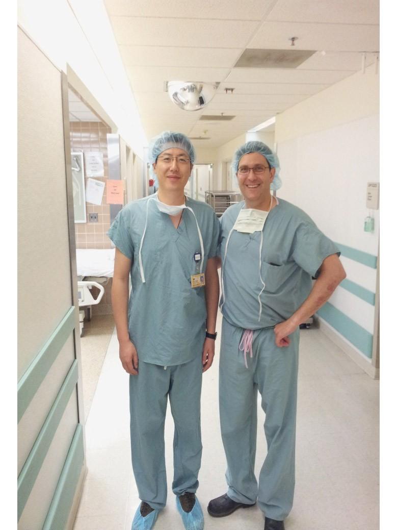 赴美国密西根大学和密西西比大学医疗中心访问学习