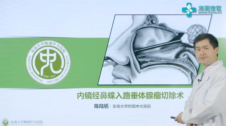陈陆馗:内镜经鼻蝶入路垂体腺瘤切除术