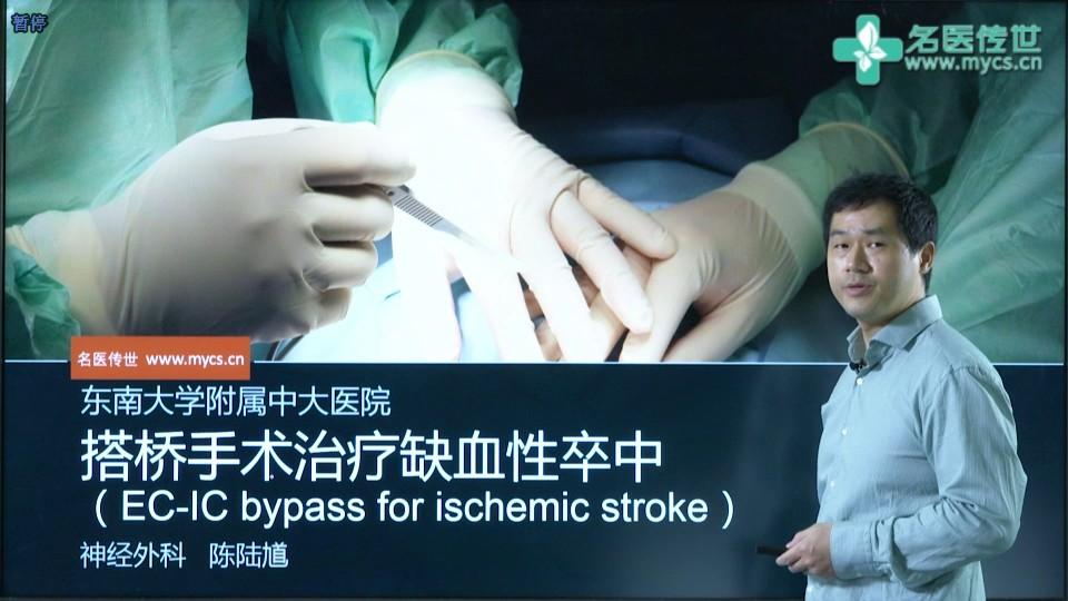 陈陆馗:搭桥手术治疗缺血性卒中(EC-IC bypass for ischemic stroke)(第1P-总2P)