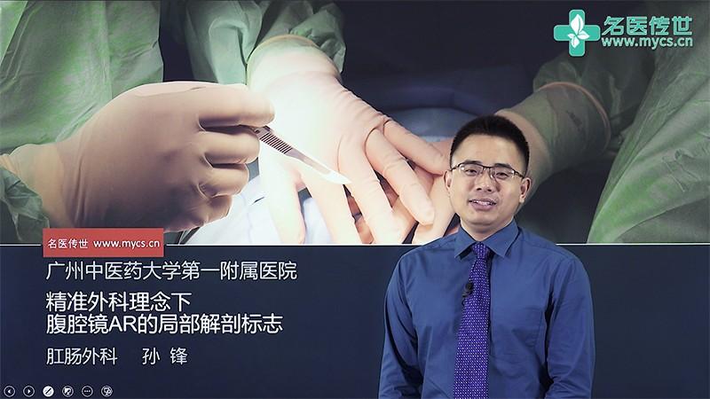 孙锋:精准外科理念下腹腔镜AR的局部解剖标志(第2P-总2P)